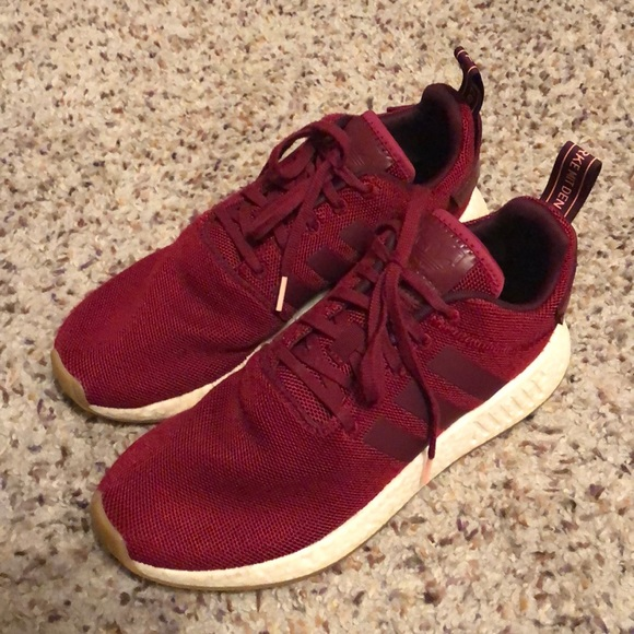 384cb16f9c144 adidas Other - Adidas NMD R2 Casual Shoes men s size 8.5 maroon
